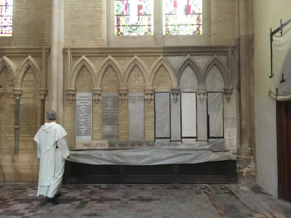 Lady Chapel restoration complete