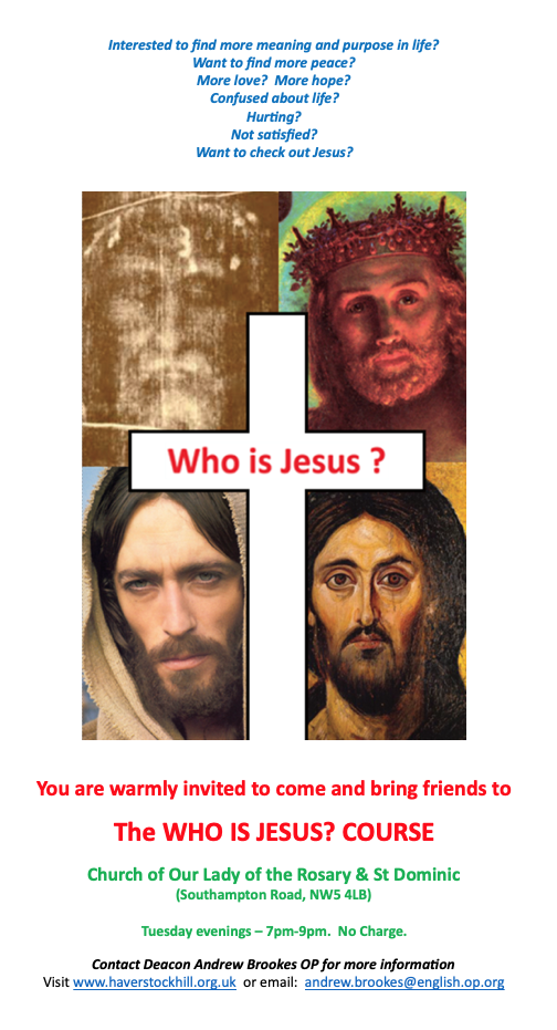 Who Is Jesus? Course