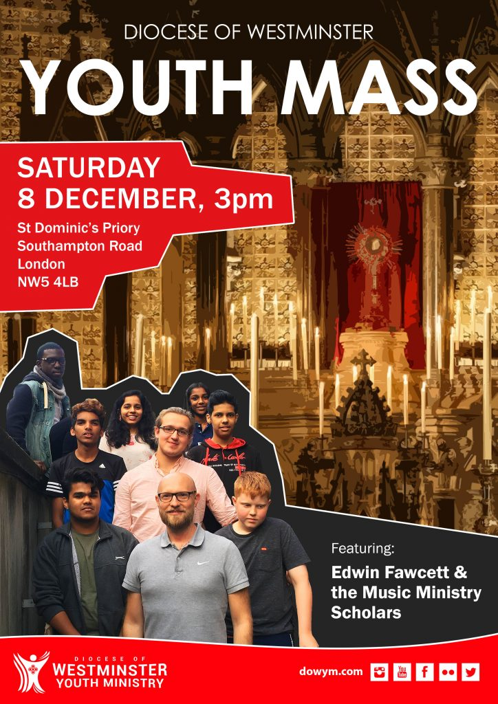 Diocesan Annual Youth Mass (8 Dec)